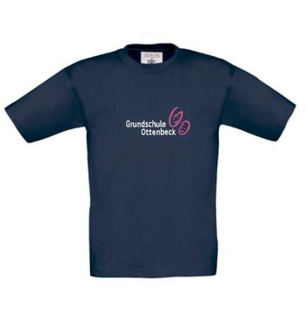 Dunkelblaues Kinder-T-Shirt